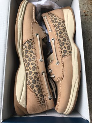 Sperry Womens 10 (Laguana leopard) for Sale in Washington, DC