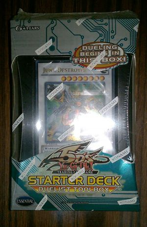 Yu-Gi-Oh Duelist Toolbox Starter Deck Yugioh for Sale in New York, NY