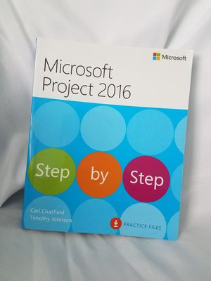 Step by Step Microsoft Project 2016 Book for Sale in Sacramento, CA