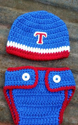 Handmade inspired by Texas ranger baby outfit. for Sale in Fort Worth, TX