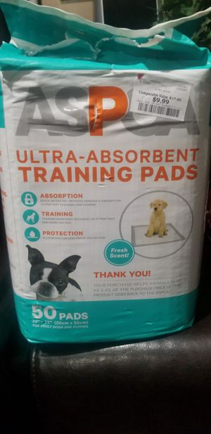 Free dogs training pads for Sale in East Riverdale, MD