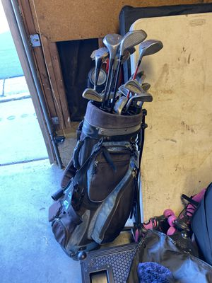 Golf clubs and bag for Sale in Placentia, CA