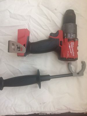 Milwaukee M18 fuel brushless hammer drill 3 gen (Tool only) for Sale in Las Vegas, NV