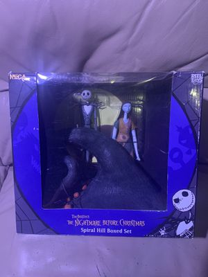 Nightmare before Christmas collectible Spiral hill boxed set for Sale in El Paso, TX
