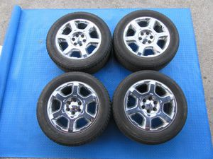 """20"""" Ford F150 Expedition chrome rims wheels tires set #6265 for Sale in HALNDLE BCH, FL"""