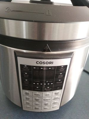 COSORI Electric Pressure Cooker 6 Qt 8-in-1 Instant Stainless Steel Pot, 16 Program Slow Cooker, Rice Cooker, Steamer, Yogurt Maker, Sauté, Warmer for Sale in Lakewood, CA