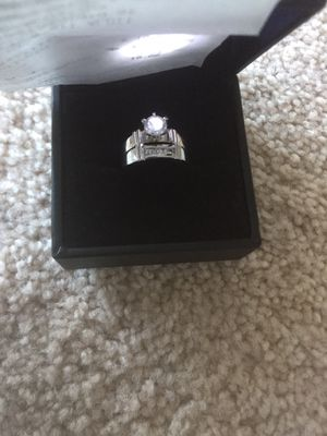 Engagement ring and band. for Sale in North Bethesda, MD