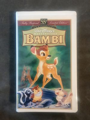 Bambi VHS limited edition for Sale in Renton, WA