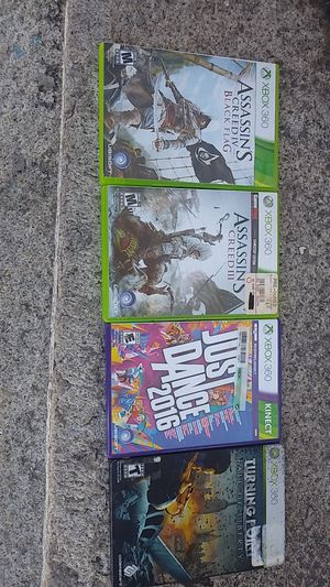Xbox 360 games for Sale in Fall River, MA