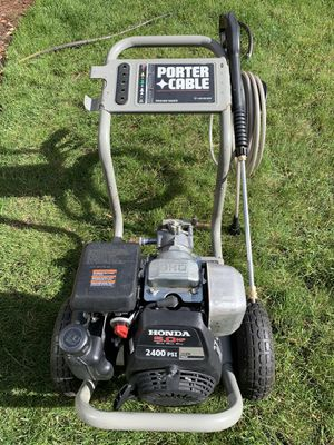 Honda pressure washer for Sale in Sammamish, WA