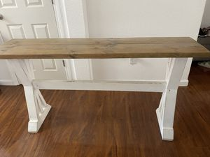 Entry way/console table for Sale in Roseville, CA