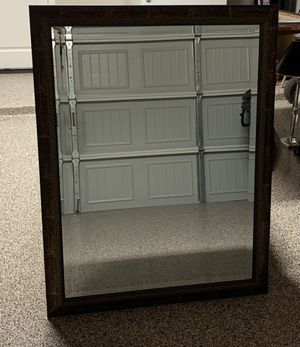 Beautiful beveled framed mirror for Sale in Spring, TX