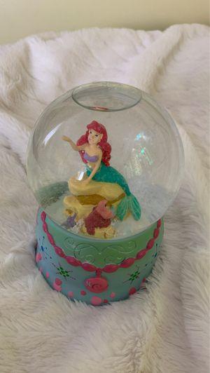 Disney Ariel Snowglobe for Sale in Manassas, VA