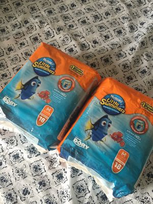 Huggies little swimmers for Sale in Grove City, OH