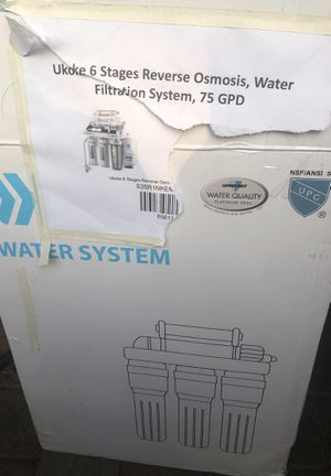 Water filtration system $170 obo for Sale in Los Angeles, CA