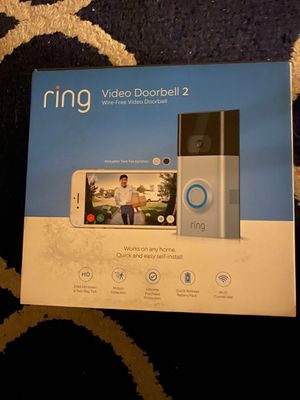 Ring video doorbell 2 read profile for Sale in Danbury, CT