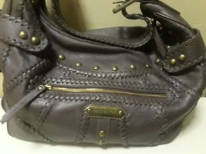 ISABELLA FIORE STUDDED LEATHER SHOULDER BAG for Sale in Queens, NY