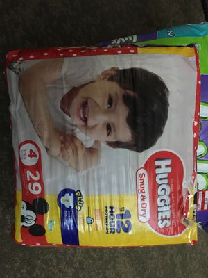 Huggies Diaper Stage 4 for Sale in High Point, NC