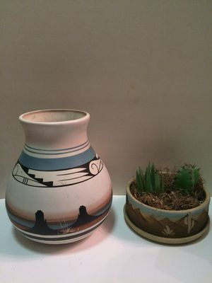 2 South western Plant pots for Sale in Salt Lake City, UT