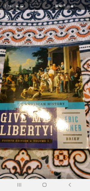 Give me liberty ! Eric Foner 4th edition for Sale in Ruskin, FL