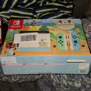 Nintendo Switch Animal Crossing Edition for Sale in Alexandria, VA