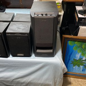 Home Theater System Sony for Sale in Pawtucket, RI