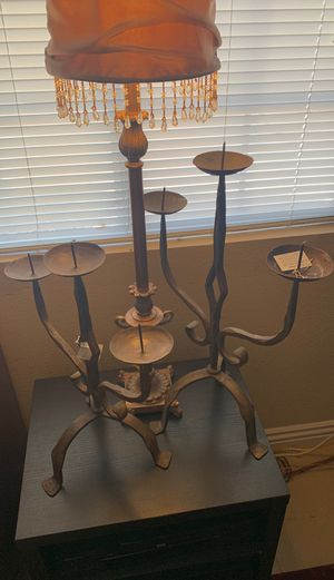 Two iron candelabra for Sale in Las Vegas, NV