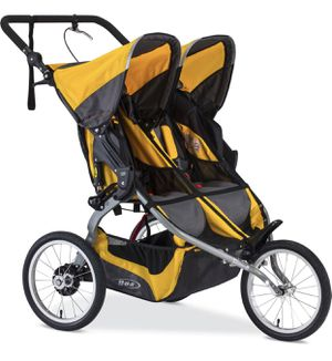 Ironman Duallie Double Jogging Stroller - Yellow for Sale in Washington, DC