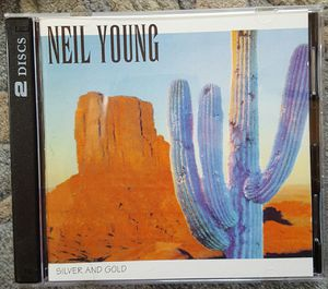 Neil Young Silver And Gold 2 CD set New Live 1992 for Sale in Richmond, VA