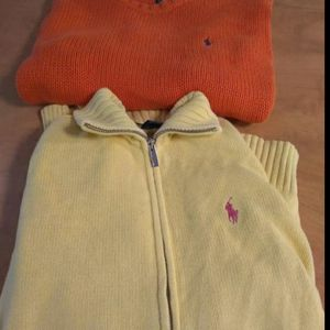 Women's polo by ralph lauren sz lg lot GUC Fabric came undone in one spot see pictures Smoke free clean house for Sale in Huttonsville, WV