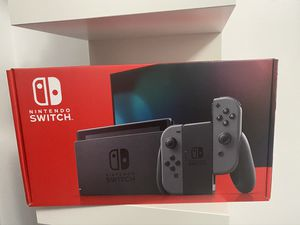 nintendo switch grey console brand new in box for Sale in Raleigh, NC