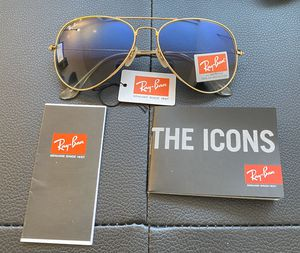 Ray Ban Exclusive Sunglasses Unisex Aviator for Sale in Staten Island, NY