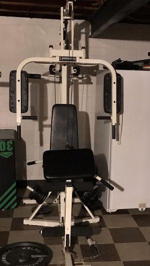 POWERHOUSE universal gym PLEASE READ DESCRIPTION for Sale in Woodhaven, MI
