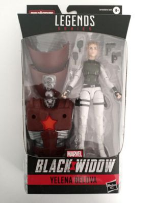 Marvel Legends Yelena Belova Collectible Action Figure Toy with Crimson Dynamo Build a Figure Piece for Sale in Chicago, IL