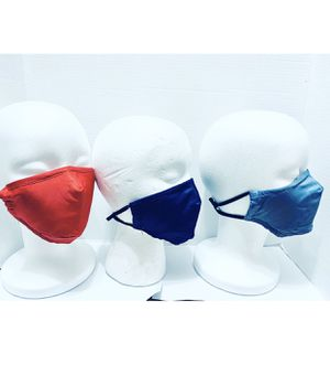 Set of 5 Reusable Mask with pocket for filter + filters for Sale in West Palm Beach, FL