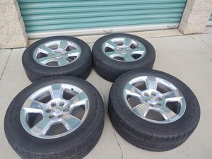 20x9+24 Oem wheels and tires and tpms and lug nuts price it's firm precio es fijo for Sale in Montclair, CA