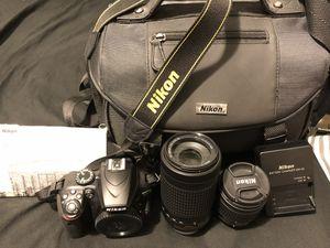 Nikon D3400 DSLR Camera for Sale in Wilmette, IL
