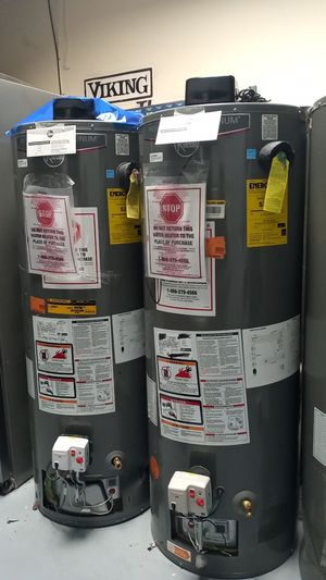 New Rheem Performance Platinum Water Heater 40 and 50 gal for Sale in Glendale, CA