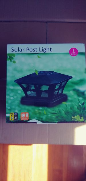 Solor post lights for Sale in Monrovia, MD