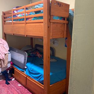 Twin Bunk Beds (mattress not included) for Sale in East Orange, NJ