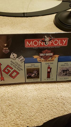 Monopoly, Harley Davidson Edition. Board game for Sale in Alexandria, VA