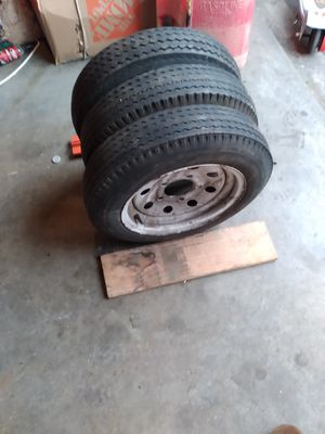 3 tires for trailer size 4.80 for Sale in Everett, WA