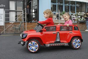4dr 2 seater hummer with remote control Rideon toy. Brand new in box for Sale in Atlanta, GA