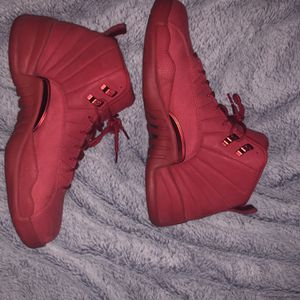 """""""Gym Red"""" Jordan retro 12s only worn once!! for Sale in San Leandro, CA"""
