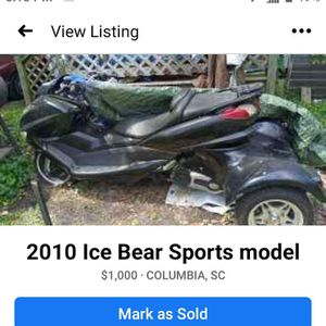 300cc Icebear Trike Black Will Trade For A Big Trailer for Sale in Cayce, SC