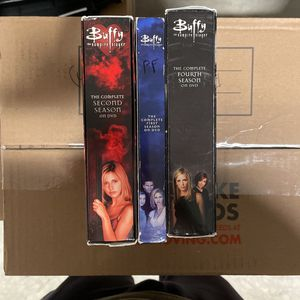 Buffy The Vampire Slayer DVD sets Seasons 1, 2, And 4 for Sale in Spring, TX