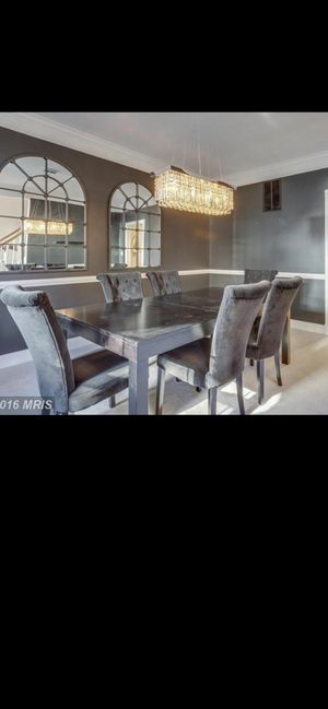 Dining Table and Six Chairs Set for Sale in Ashburn, VA
