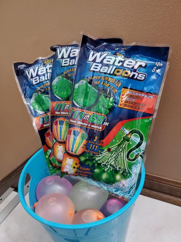 333 Self Sealing water Balloons