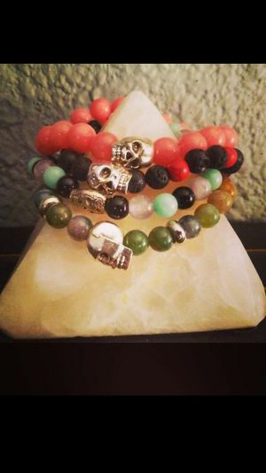 Natural gemstone Bracelets on sale this week only!!! for Sale in Phoenix, AZ