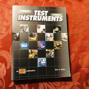Test Instruments Electrician Soft Book for Sale in Tacoma, WA
